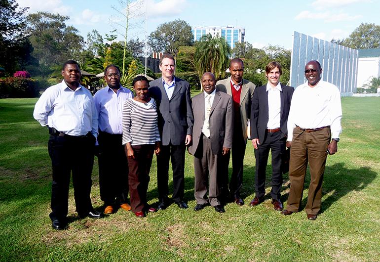 gruppenfoto kenia