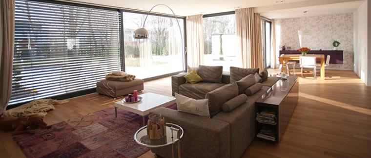 KNX projekt Koeln Junkersdorf wohnzimmer 2