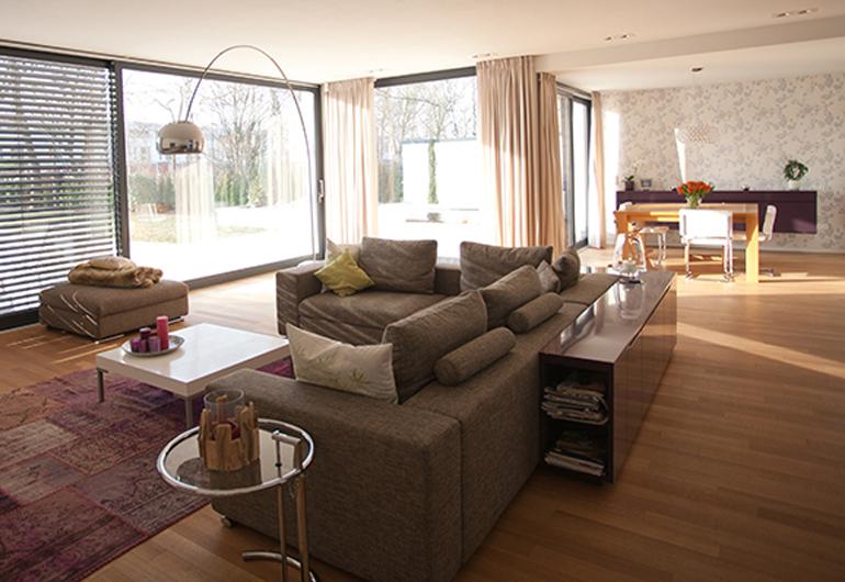 KNX projekt Koeln Junkersdorf wohnzimmer