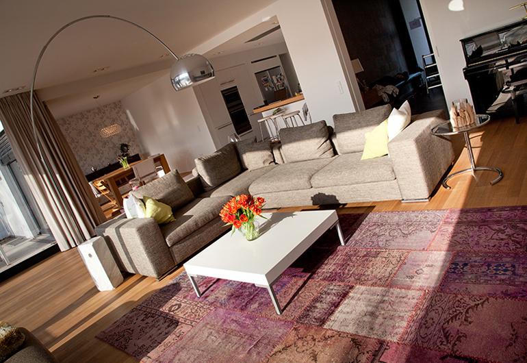 KNX projekt Koeln Junkersdorf wohnzimmer2